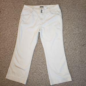 Eddie Bauer off white jeans size 16